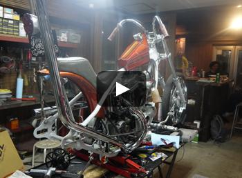 HARLEY-DAVIDSON XL883C Fxxkin' Sporty